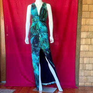 NWOT GUESS/MARCIANO Long Jungle Maxi Dress